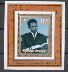J27283 1973 rwanda s/s mnh #514 book