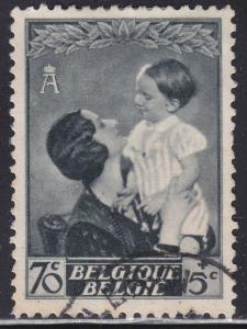 Belgium B193 Queen Astrid & Prince Baudouin 1937