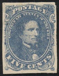 Confederate CSA 4 Mint OG hinged VF SCV $225  (TJ 10/19)