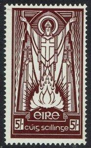 IRELAND 1937 ST  PATRICK 5/- WMK SE