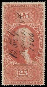 U.S. REV. FIRST ISSUE R100c  Used (ID # 97024)