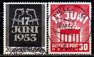 GERMANY. BERLIN. 1952. 17 June 1953