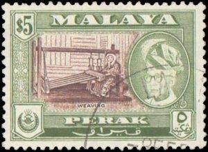 Malaya Perak #131, Incomplete Set, 1957-1961, Used