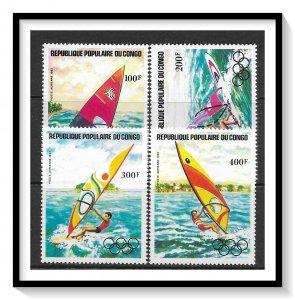 Congo People's Republic #C305-C308 Airmail MNH