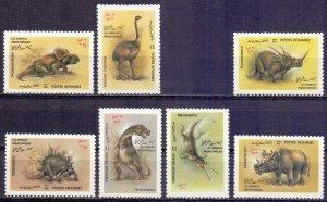Afghanistan. 1988. 1581-87. Dinosaurs. MVLH.