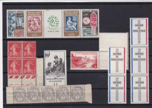 france mint never hinged stamps ref 16364