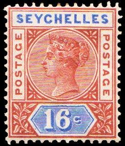 Seychelles Scott 12 Unused hinged.