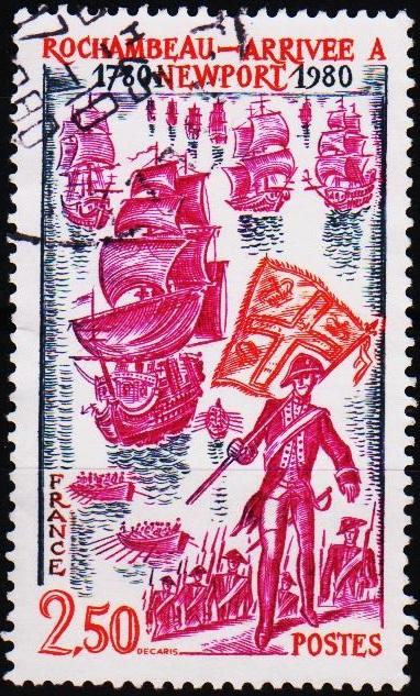 France. 1980 2f50 S.G.2375 Fine Used