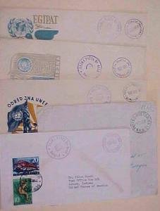 YUGOSLAVIA   5 DIFF. COVERS  MILITARY 1952-1959
