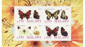 Butterflies -  Sheet of 4  - 13K-041