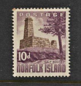 STAMP STATION PERTH Norfolk Island #35 Salt House MNH - CV$3.00
