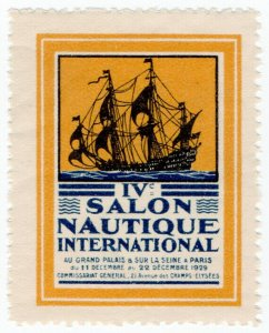 (I.B) France Cinderella : International Shipping Exhibition (Paris 1929)