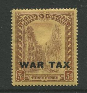 Bahamas -Scott MR9 - Queens Staircase War Tax -1918 - MNH - Single 3p Stamp