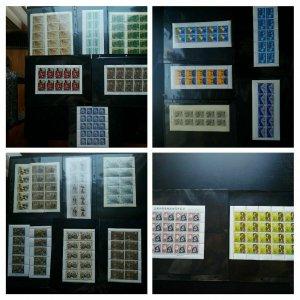 "Sehr Selten 1955-80 Japan ""Collection Of 22 MNH Blätter"" Wert Usd 450.00 Sehr"