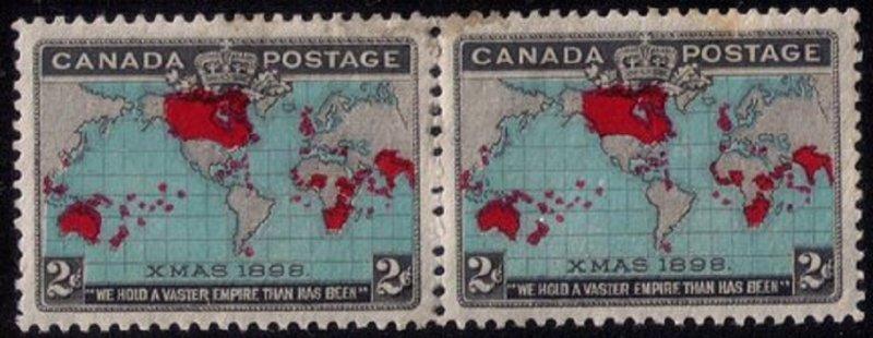 CANADA Sc #86 MNH VERT.PAIR,(SG168) CAT.$400.00