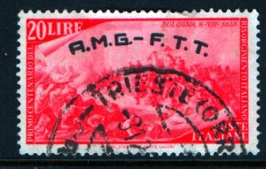 TRIESTE 26 USED AMG FTT ISSUE 1948