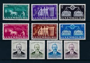 Luxembourg Luxemburg 1951 Complete Year Set  MNH