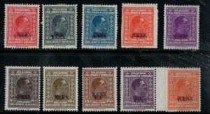 Yugoslavia 1026 SC 56-62 Mint SCV $292 Set