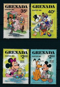 [22503] Grenada 1981 Disney Characters and Easter MNH