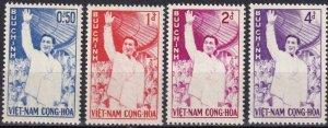 Vietnam #158-61 MNH CV $6.10  (Z8126)