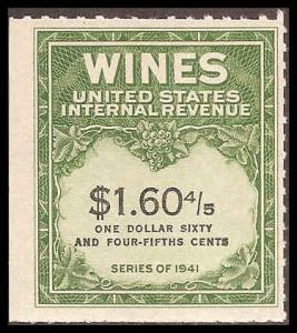 RE196 Mint F-VF no gum as issued Wine