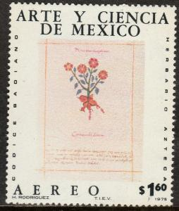 MEXICO C515, Art & Science (Series 5) MINT, NH. F-VF.