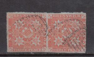 New Brunswick #1 Used Bright Pair With Light Cancel