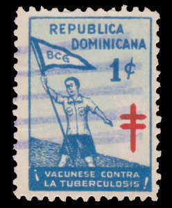 DOMINICAN REPUBLIC. SCOTT # RA12. YEAR 1950. USED.