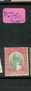 MALAYA  PERAK  (P1305BB)  SULTAN  $2.00  SG 120   MOG