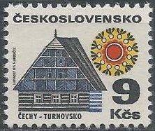 Czechoslovakia 1740 (mnh) 9k cottage in Turnov (1971)