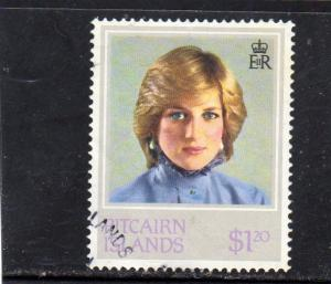 Pitcairn Island  HRH Princess Diana used
