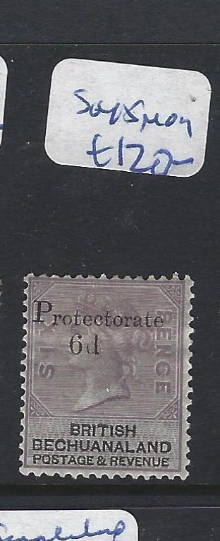 BECHUANALAND PROTECTORATE (PP1111B) QV 6D/6D PROTECTORATE  SG 45   MOG