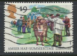 Great Britain SG 1834  Used  - Summertime  Four Seasons