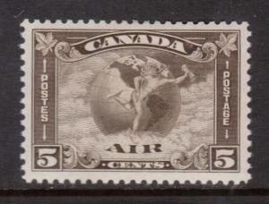 Canada #C2 VF Mint
