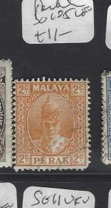 MALAYA PERAK  (PP0502B)   SULTAN 2C  SG 105   VFU