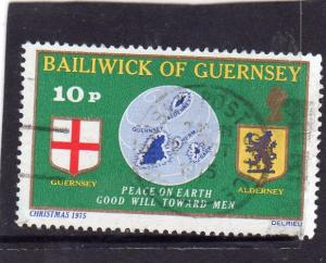 Guernsey 1975 Christmas used