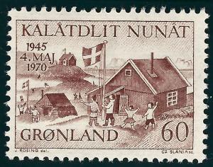 Greenland (Scott #76) VF MNH...Nice!