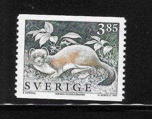 Sweden 1996 Wild Animals Sc 1924 MNH A2041