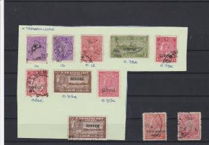 India Travancore Stamps Ref 33169