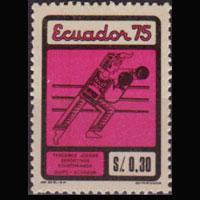 ECUADOR 1975 - Scott# 917 Games-Boxing 30c NH
