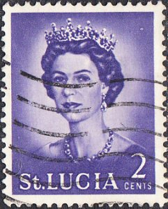 St. Lucia    #183  Used