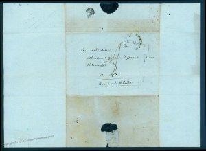 Napoleonic 1815 Bureau Francaise Rome Cardinal Fesch Letter 92096