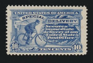 US E8 10c Special Delivery Mint VF-XF OG NH (included perf disc) SCV$240
