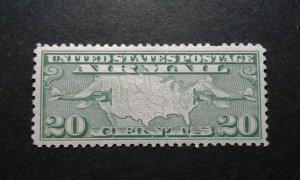 US #C9 mint hinged e206 10294