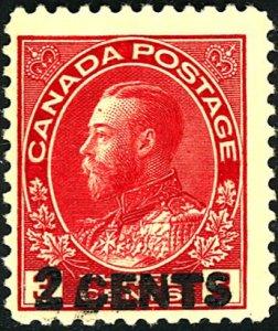 Canada #139 MINT OG LH