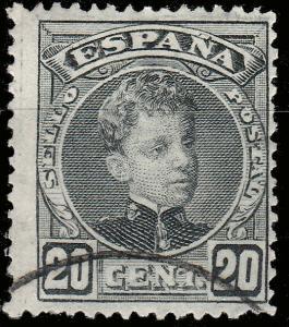 ESPAGNE / SPAIN - 1901 - Ed.247/Mi.210 20c Cadet - Superb Used
