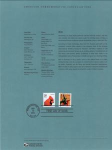 US SP1494 Atlas 3770 Souvenir Page FDC