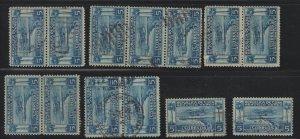 1927 Cuba Stamps Sc C1 Seaplane Over Havana Harbor 18 Stamps U