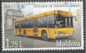 MOLDOVA, 2013, used 1.75 l, Urban Transport IMPS 850