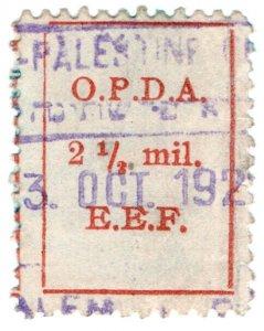 (I.B) Palestine Revenue : Ottoman Public Debt 2½m (OPDA)